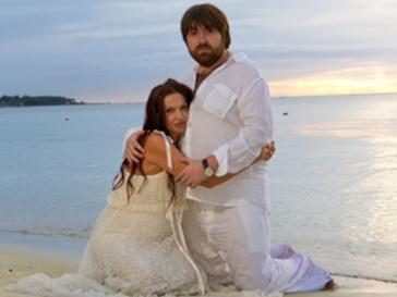 Эвелина Бледанс с мужем Александром Семиным