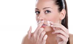 Сделайте кожу над губой гладкой и шелковистой