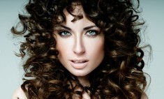 Особенности укладки кудрявых волос