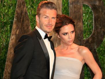 Дэвид Бекхэм (David Beckham) восхищается своей женой Викторией (Victoria Beckham)