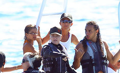 Мадонна познакомила детей с любовником