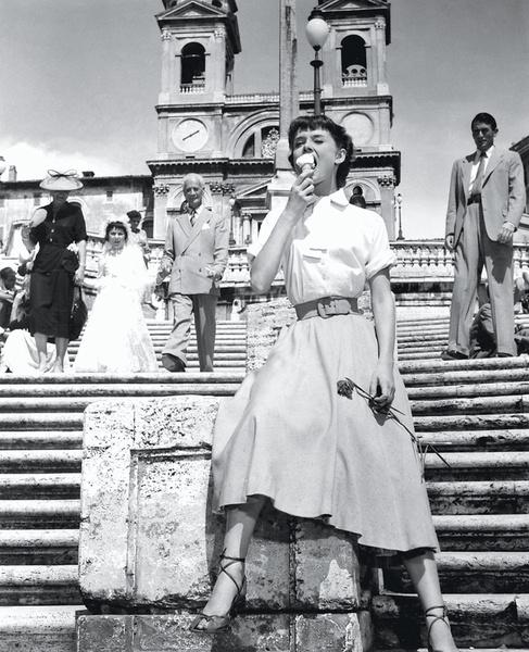 Одри Хепберн в фильме «Римские каникулы», 1953.