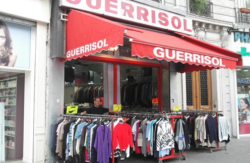 Парижский магазинчик Guerrisol