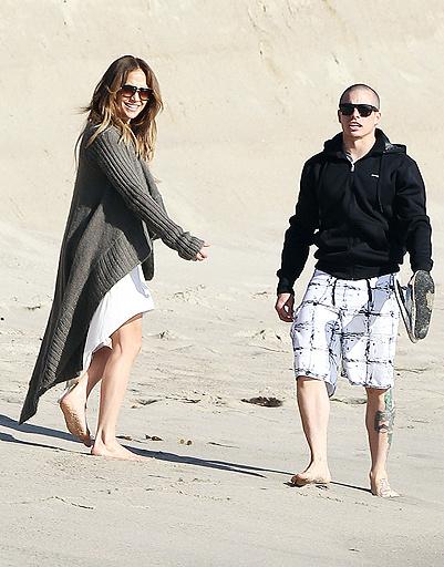 Дженнифер Лопес (Jennifer Lopez) и Каспер Смарт (Casper Smart)