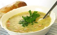 Протираем замороженные овощи для супа