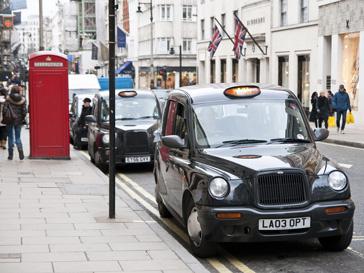 Лондон, такси, мобильная связь, SMS