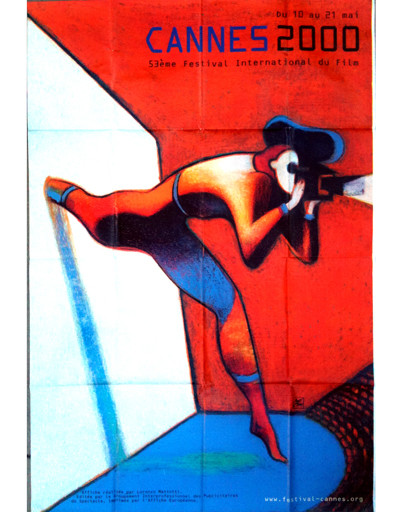 Плакат Каннского кинофестиваля-2000