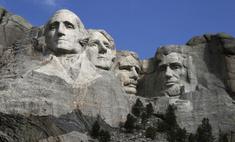 выглядела гора рашмор появились президента