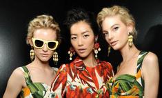 «Вкусные» платья на Неделе моды в Милане