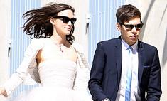 Кира Найтли испортила свое свадебное платье
