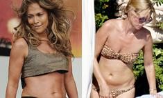 Шок: Кейт Мосс и Дженнифер Лопес потеряли форму