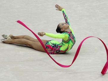 Дарья Дмитриева - чемпионка мира с лентой