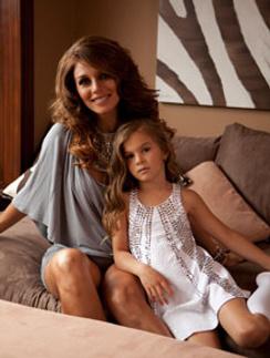 Дочь Анны Седоковой учится в Беверли-Хиллз.