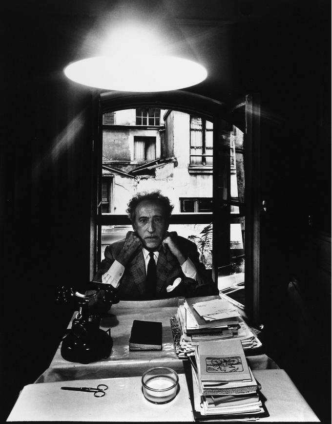 Арнольд Ньюман. Жан Кокто, писатель, художник, кинорежиссер, Париж, Франция, 1960