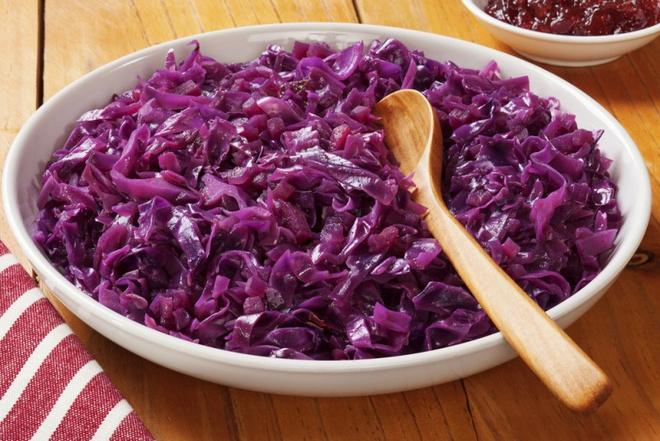 Рецепты из красной капусты