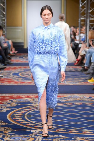Показ осенне-зимней коллекции Ruban на Mercedes-Benz Fashion Week RussiaПоказ осенне-зимней коллекции Ruban на Mercedes-Benz Fashion Week Russia   галерея [2] фото [7]