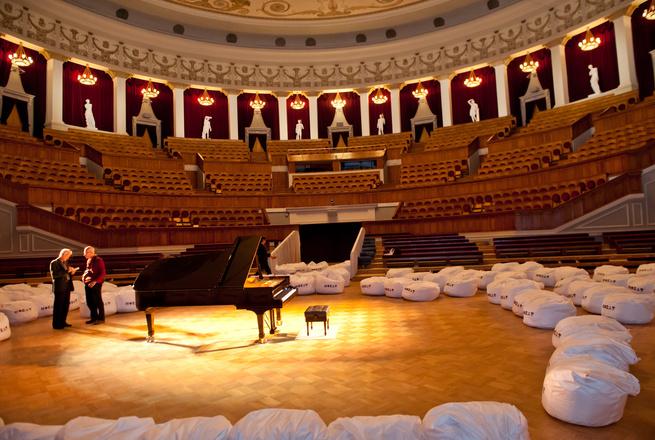 Новосибирский театр оперы и балета новые кресла