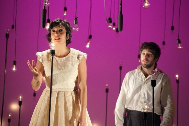 Платоновский фестиваль 2016: спектакль Белое на белом