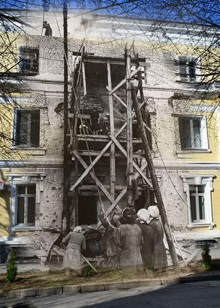 Восстановление Сталинграда