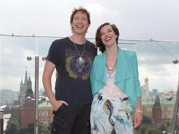 Мила Йовович (Mila Jovovich) и Пол Андерсон (Paul Anderson)
