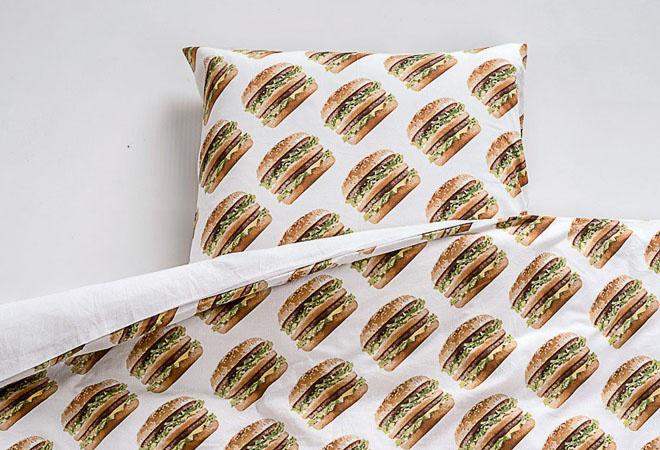 Постельное белье от McDonald's: фото