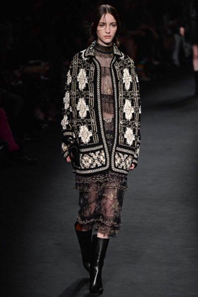Неделя моды в Париже: показ Valentino ready-to-wear осень — зима 2015-2016 | галерея [1] фото [20]