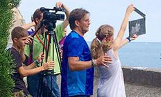 Домогаров снимает в «Артеке» свой первый фильм