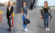 Уличная мода: спортивный шик и кроссовки