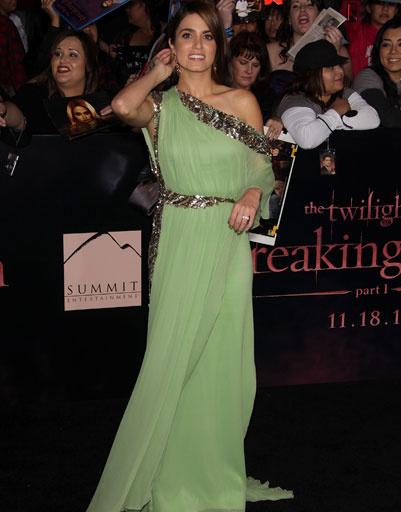 """Никки Рид (Nikki Reed) на лос-анджелесской премьере фильма """"Сумерки. Сага. Рассвет. Часть 1"""""""