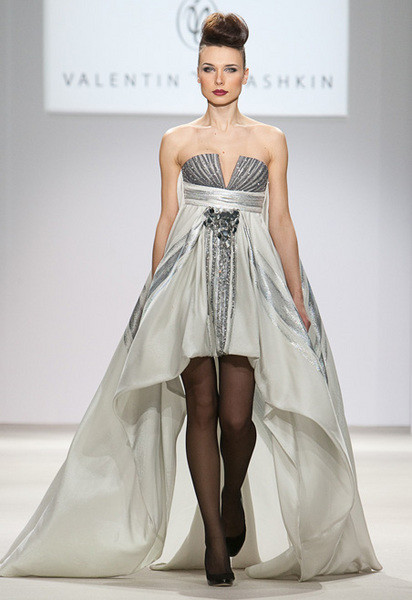 Вечернее платье от Валентина Юдашкина