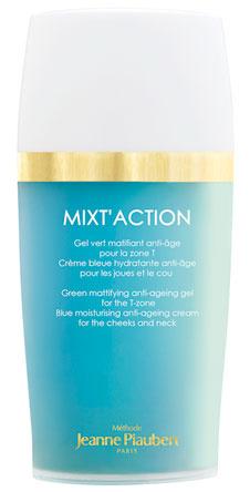 Гель для разных зон лица. Mixt'Action, Jeanne Piaubert. Увлажняет и матирует кожу.