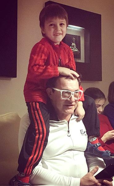 Дмитрий и Полина Дибровы готовятся праздновать день рождения старшего сына