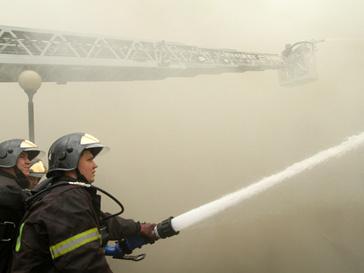 Пожар в турецком отеле - есть жертвы