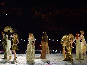 церемония закрытия олимпийских игр в Лондоне