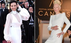 Белые королевы: платье Тильды Суинтон против Жюльет Бинош