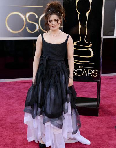 """Хелена Бонем Картер (Helena Bonham Carter) на премии """"Оскар""""-2013"""