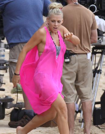 Американская актриса Бизи Филипс (Elizabeth Philipps), одной из главных работ которой стал сериал «Город хищниц».