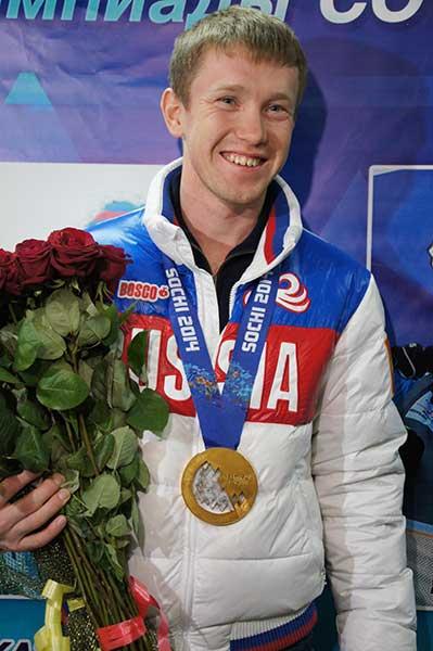 Олимпийский чемпион Алексей Воробьев