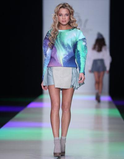 Показ коллекции Maria Golubeva осень-зима 2013/14 на Mercedes-Benz Fashion Week Russia