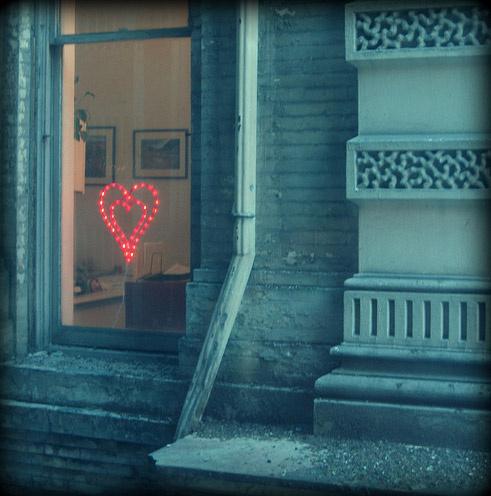 романтическое украшение комнаты
