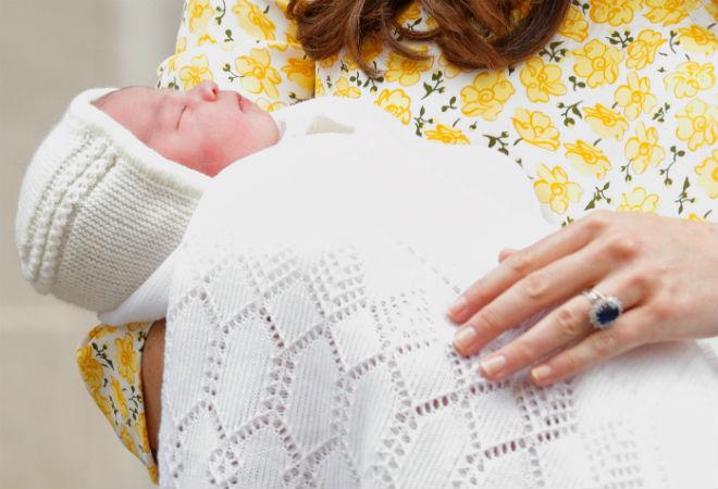 Кейт Миддлтон родила дочь