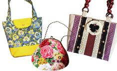 100 модных летних сумочек с цветочными мотивами