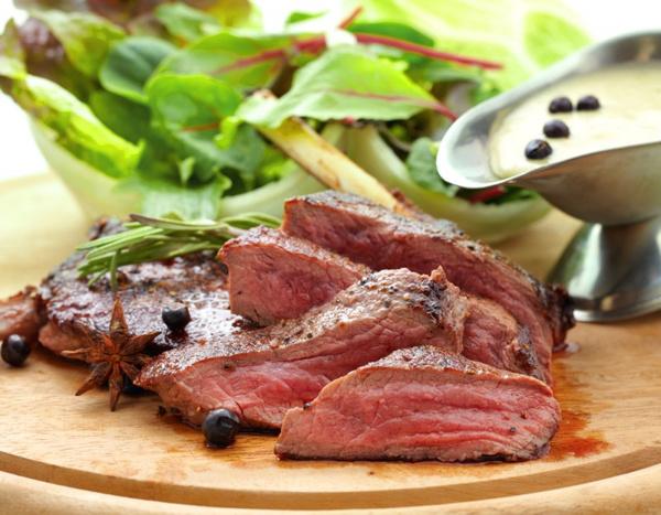 Блюда из мяса оленя