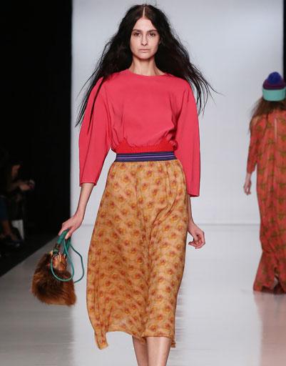 Показ коллекции Alena Akhmadullina осень-зима 2013/14 на Mercedes-Benz Fashion Week Russia