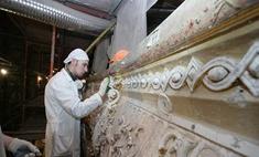 Завершается реставрация фасада Большого театра
