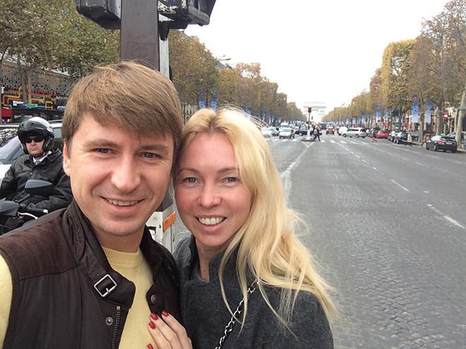 Алексей Ягудин с женой фото