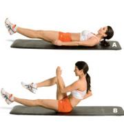 Упражнения для упругого живота