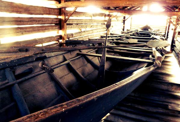 Остров Сеурасаари, церковные лодки