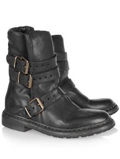 Байкерские ботинки Burberry