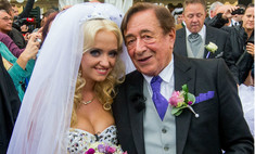 81-летний Ричард Лагнер женился на модели Playboy